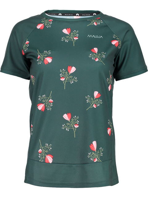 Maloja OrtensiaM. Multi Short Sleeve Jersey Women pinetree